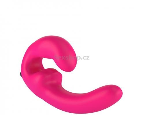 Fun Factory ShareVibe strap-on Vibrátor - růžový