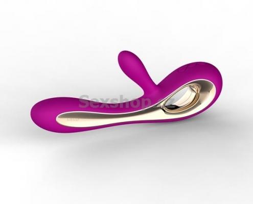 Lelo Soraya vibrátor na klitoris - fialový