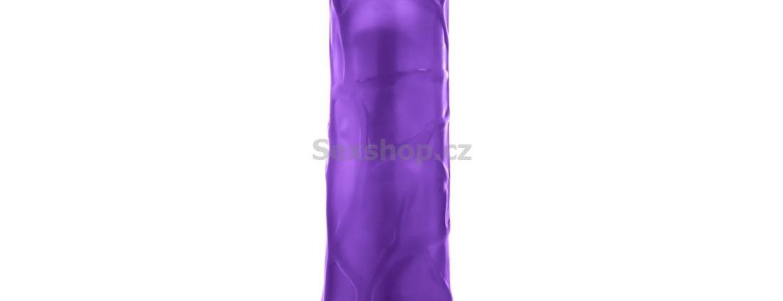 Revel Fuze gelový vibrátor - fialový